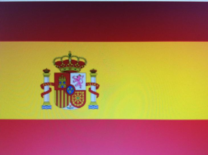 The Spanish Flag.