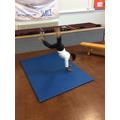 """""""I can do a cartwheel, watch me"""""""