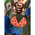 Do you like my ladybird?