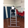 I can climb the highest ladder