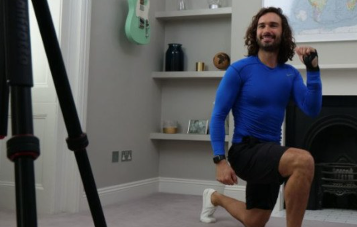 Join Joe Wicks on Youtube for 20 minutes