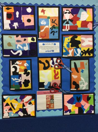 Examples of year 4 Work