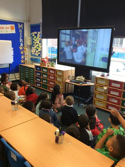 We watched some videos to help us understand what Red Nose Day is all about.