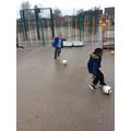 Kicking and passing