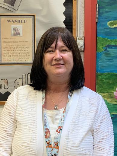 Mrs Newton, teaching assistant