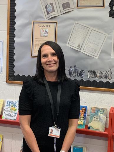 Mrs Foulser, class teacher