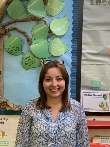 Mrs Barbour, class teacher
