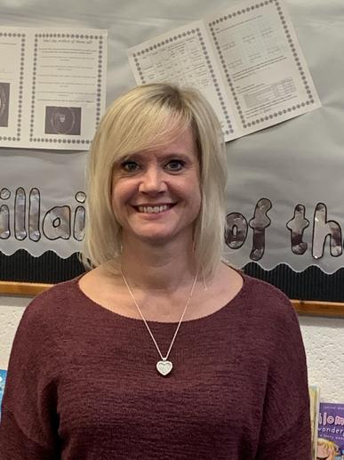 Mrs Elliott, Teaching Assistant