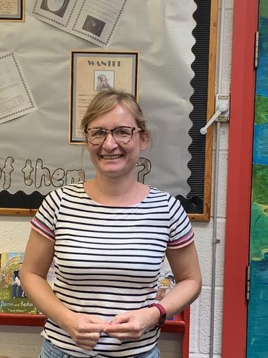 Mrs Tucker, teaching assistant