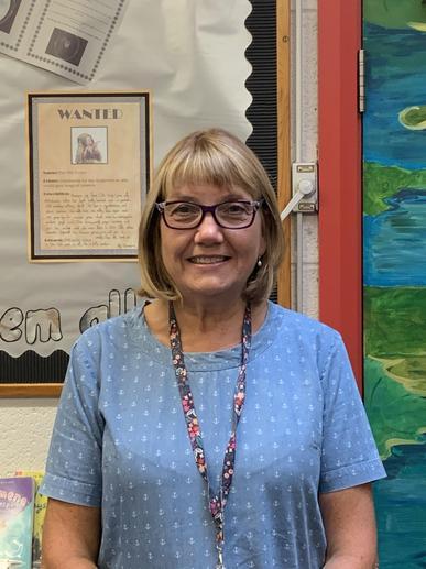 Mrs Deacon, teaching assistant