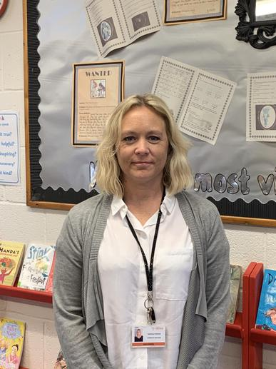 Mrs Downing, teaching assistant
