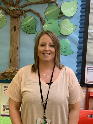 Mrs Johnson, teaching assistant