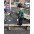 We are learning to balance.