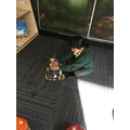 The Tiger Who Came to Tea - we use props to tell stories