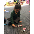 We can make repeating patterns.