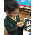 We can match numbers to quantities.
