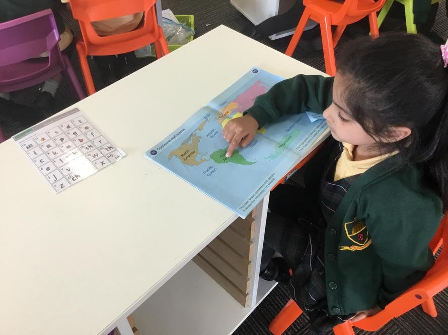 Finding the seven continents