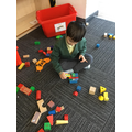 We use materials to build and balance.