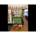 Our listening area can be used to explore recorded music, stories and rhymes.