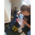 Making ice-cream