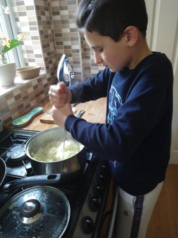 Our next Master Chef!
