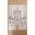 Art inspired by Gaudi- final building design