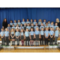 Our Junior Choir with Mrs Connery and Miss Ashby