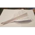 Lucy's paper aeroplane design