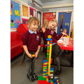Making houses and landmarks from Duplo
