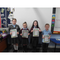 The P4 prayer readers - they were great!