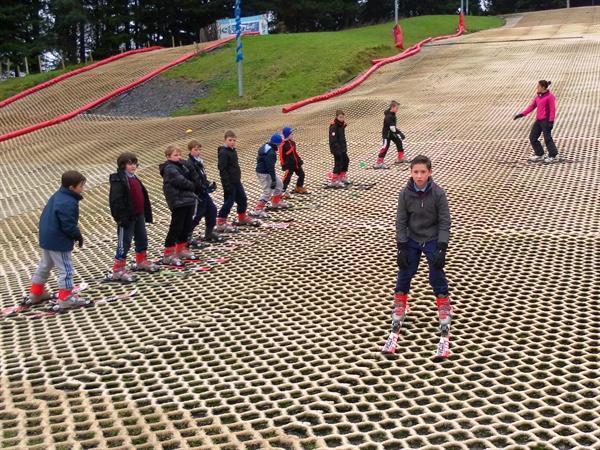 P7 Ski lesson Dec13