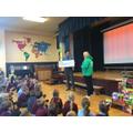 Macmillan cheque presentation