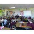 Mr McCartney reads to P6M!
