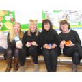 Goldilocks and her 3 bears!