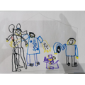 Super picture of who lives in your house Jenson, well done.