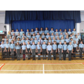 Our Senior Choir with Mrs Bell