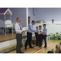 Attendance certificate winners