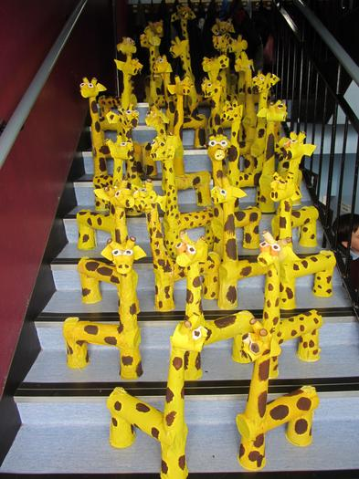 Our Giraffes on Parade