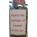 Can you guess how many sweets are in our jar?