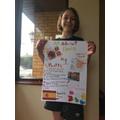 Olivia's Spanish poster!