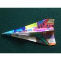 Peter's paper aeroplane design