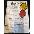 Abi & Ellie's Spanish poster!