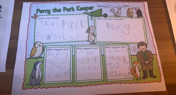 Percy the Parkkeeper