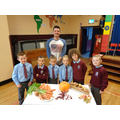 Guest speaker Simon Henry with P4 prayer readers