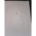 Fantastic polar bear face Joey...I'm so proud of you!