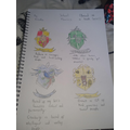 Brooke's short story illustrations!