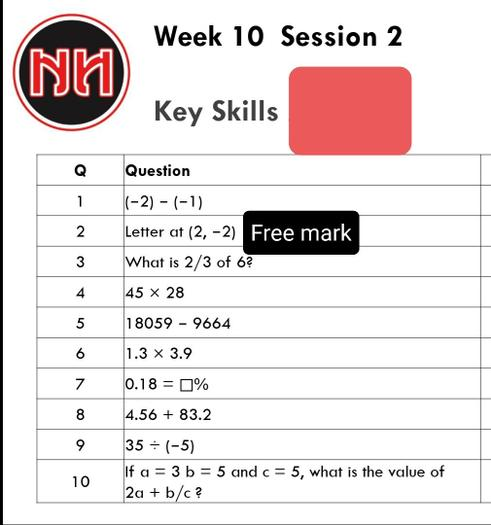 Ignore no. 2 - a free mark for you!