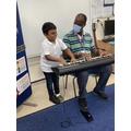 Music therapy with Kwaku