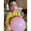 Balloons- Home learning