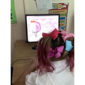 We have been making animations using positional language.